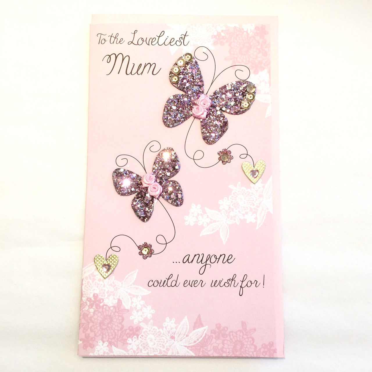 """To the lovliest mum ...anyone could ever wish for"" Mother's Day Greeting Card, ID-Incognito Distribution, Putti Fine Furnishings"