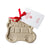 Stoneware Christmas Car with Tree Cookie Mold | Putti Christmas Baking