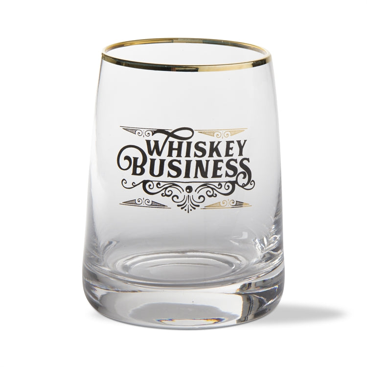 """Whiskey Business"" Whiskey Glass 