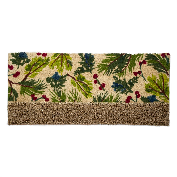 Juniper Sprig Coir Estate Doormat