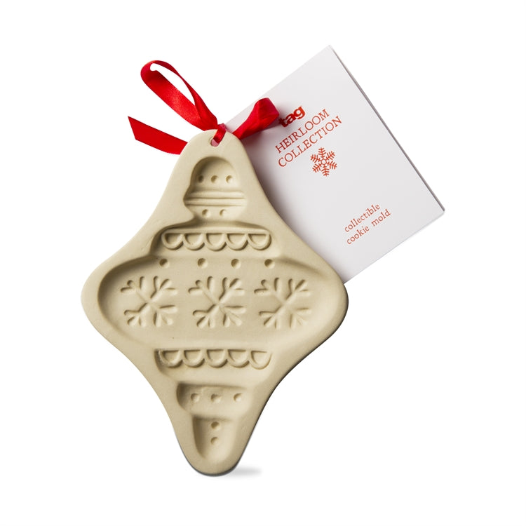 Stoneware Ornament Cookie Mold
