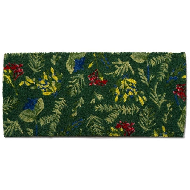 Tag Ltd. Winter Sprig Coir Estate Doormat | Putti Christmas Door Mats