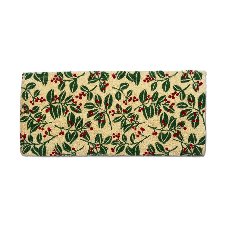 Holiday Berries Coir Estate Doormat