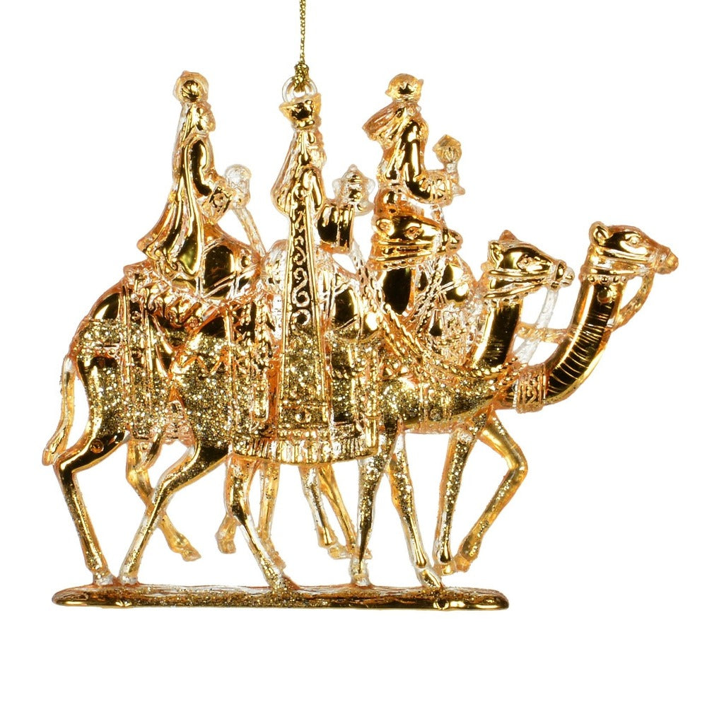 Gold Wisemen Ornament  | Putti Christmas Canada