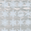 Caspari Snowfall Silver Foil Christmas Wrapping Paper Roll | Putti