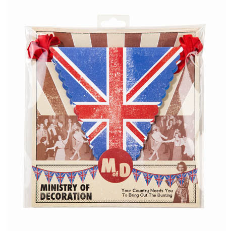 Union Jack Bunting, TT-Talking Tables, Putti Fine Furnishings