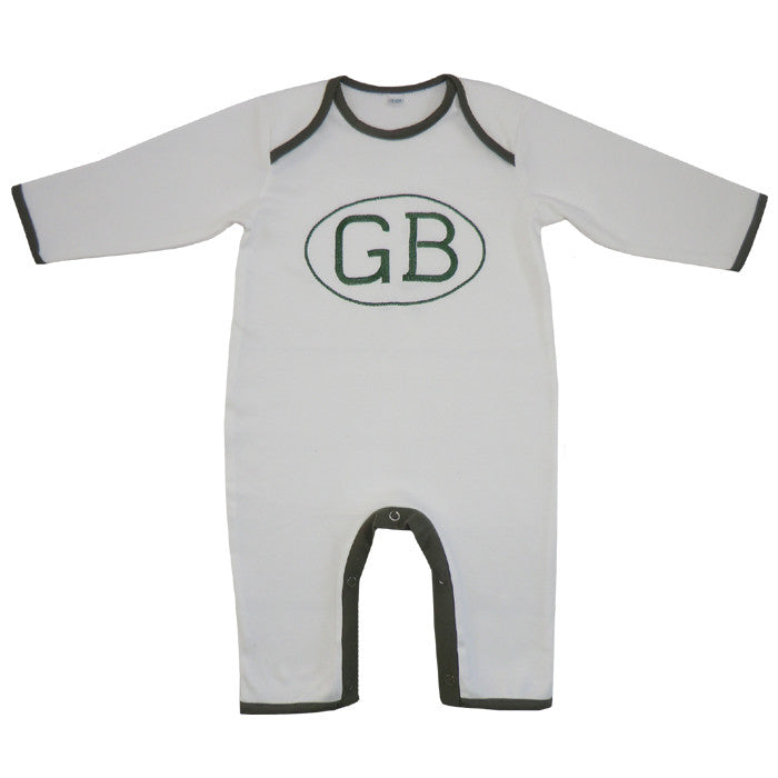GB Jumpsuit-Children's Clothing-PC-Powell Craft Uk-0 to 6 month (Special Order 2 weeks)-Putti Fine Furnishings