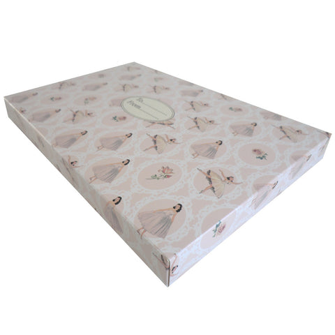 Ballerina Gift Box-Gift Boxes-PC-Powell Craft Uk-Putti Fine Furnishings