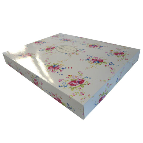Mixed Floral Gift Box-Gift Boxes-PC-Powell Craft Uk-Putti Fine Furnishings