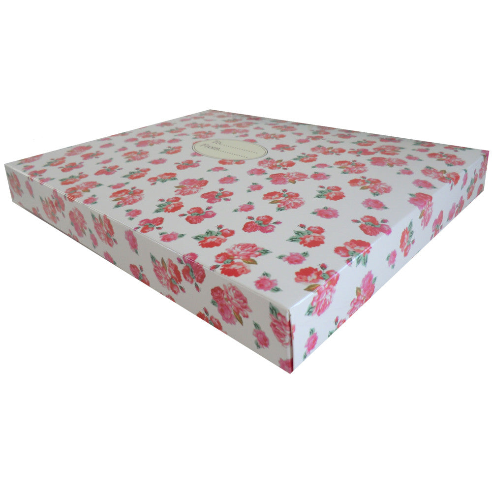 Red Rose Gift Box-Gift Boxes-PC-Powell Craft Uk-Putti Fine Furnishings