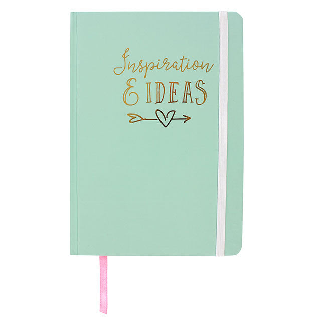 """Inspiration & Ideas"" Note Book - Large, SD-Something Different, Putti Fine Furnishings"