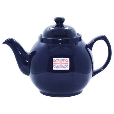"""Blue Betty"" English Teapot - Putti Fine Furnishings Canada"