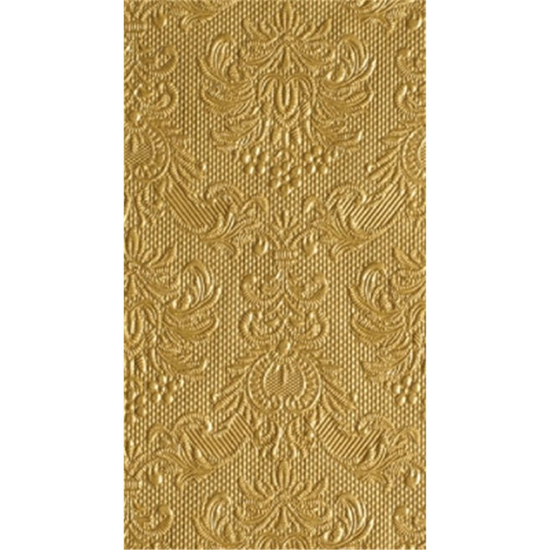 """Elegance"" Embossed Paper Guest Towel - Gold, EG-Elegant Gifts, Putti Fine Furnishings"