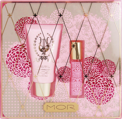 "Mor ""Marshmallow Petites"" - Perfume and Hand Cream Gift Set -  Personal Fragrance - Putti Fine Furnishings - Putti Fine Furnishings Toronto Canada - 3"
