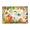 "Michel Design Works ""Fall Harvest"" Rectangular Glass Soap Dish 