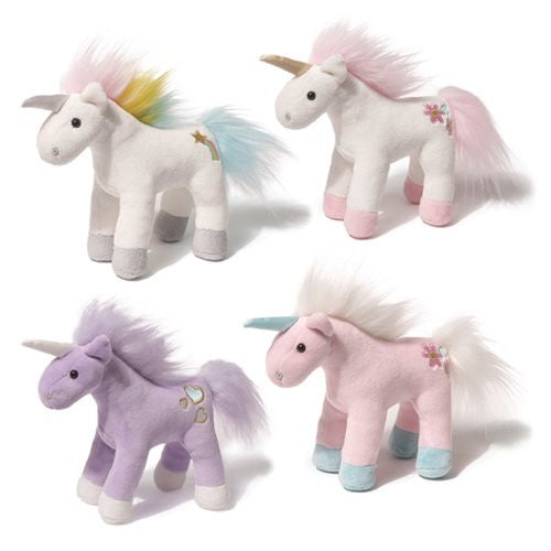 "Gund ""Chatters""Unicorn Musical Toy, EC-Enesco Canada, Putti Fine Furnishings"