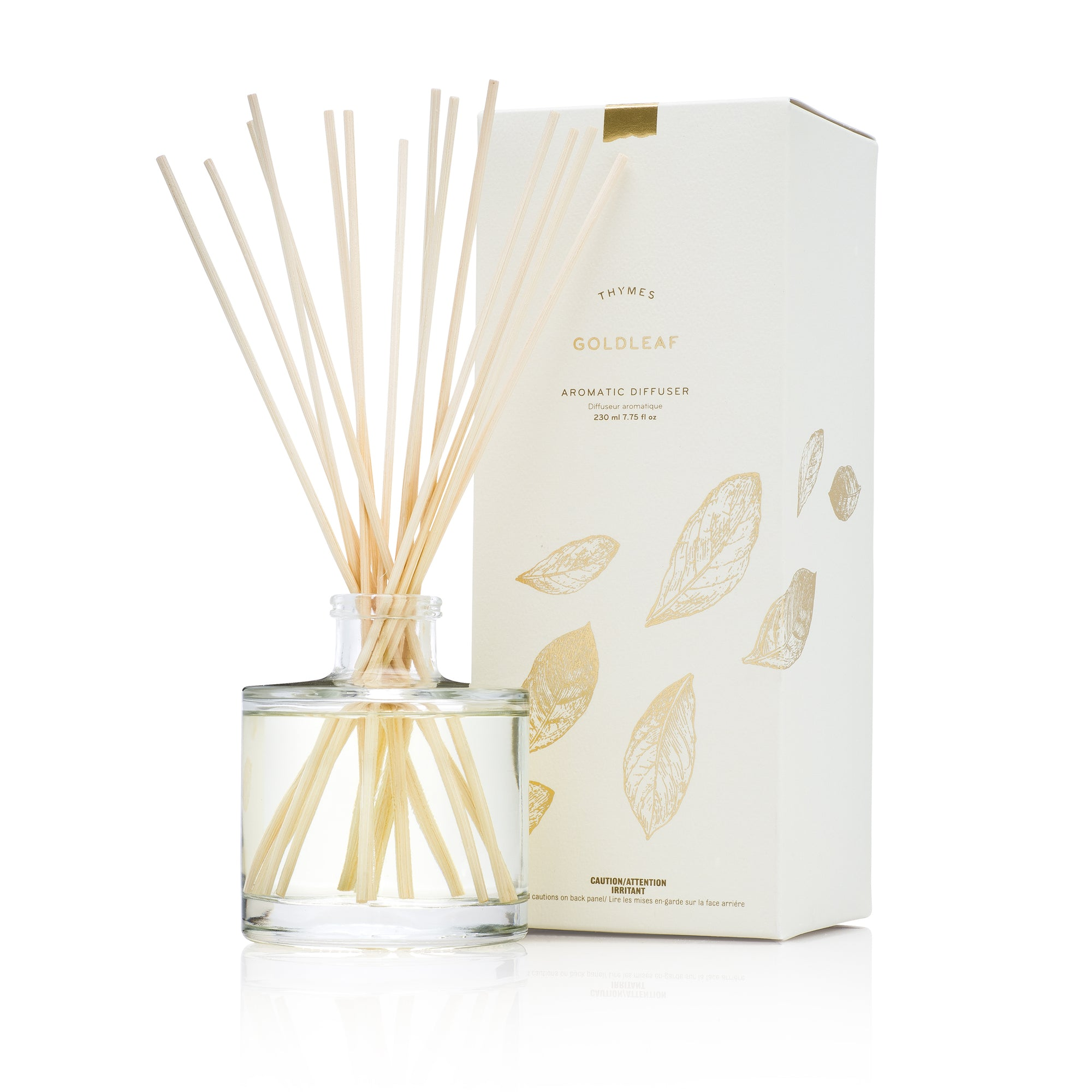 Thymes Goldleaf Reed Diffuser | Putti Fine Furnishings Canada