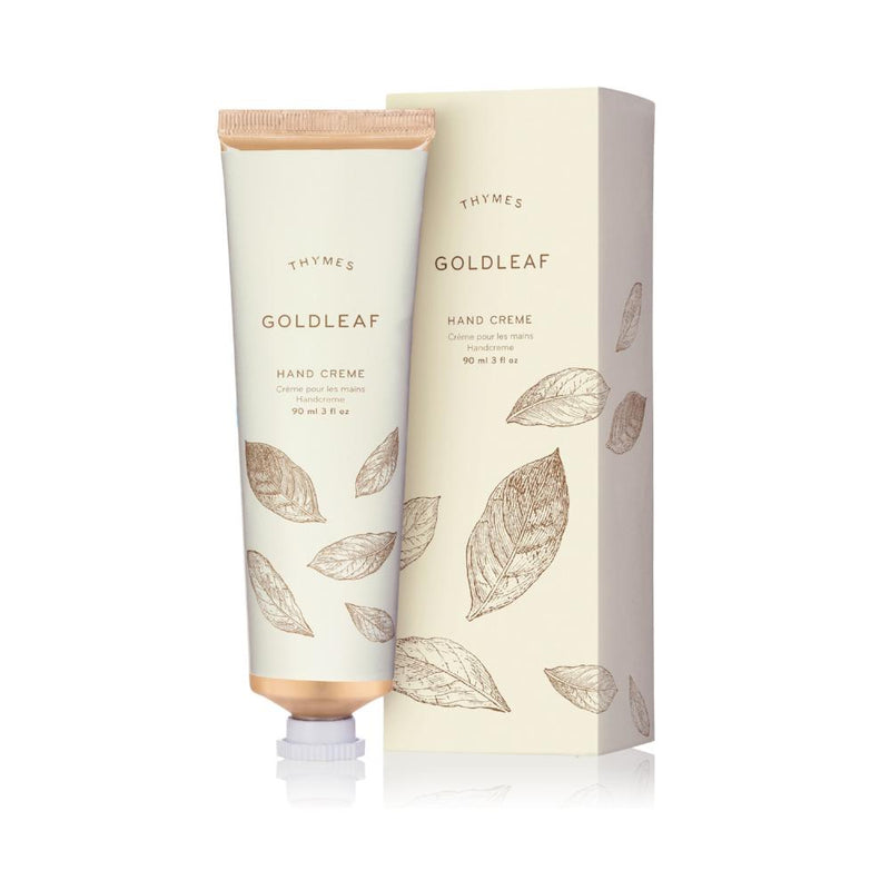 Thymes Goldleaf Hand Creme - Putti Fine Furnishings Canada