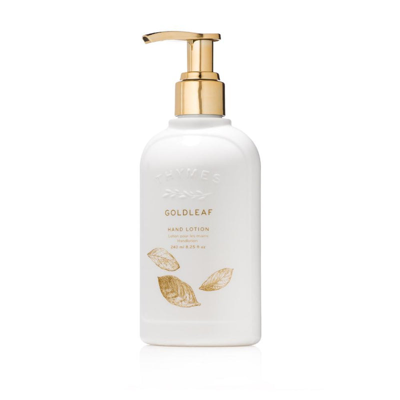 Thymes Goldleaf Hand Lotion - Putti Fine Furnishings Canada