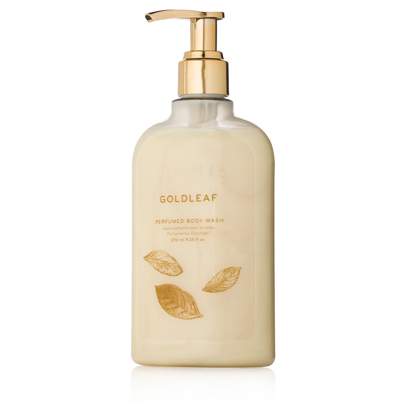 Thymes Goldleaf Body Wash with Pump
