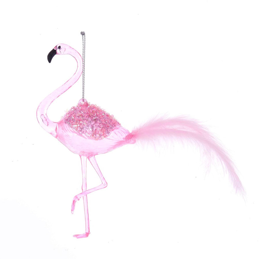 Kurt Adler Pink Flamingo Ornament