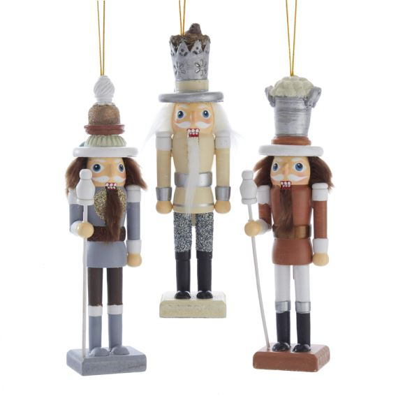 Kurt Adler Natural Nutcracker 6"