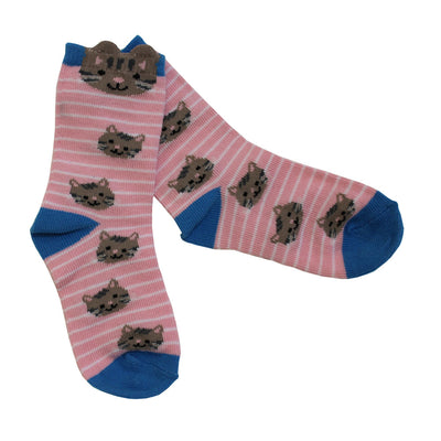 Cat Motif Socks, PC-Powell Craft Uk, Putti Fine Furnishings