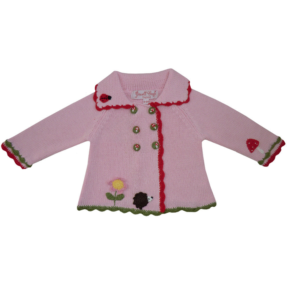 Enchanted Forest Pram Coat-Children's Clothing-PC-Powell Craft Uk-0 to 6 months (Special Order 2 weeks)-Putti Fine Furnishings