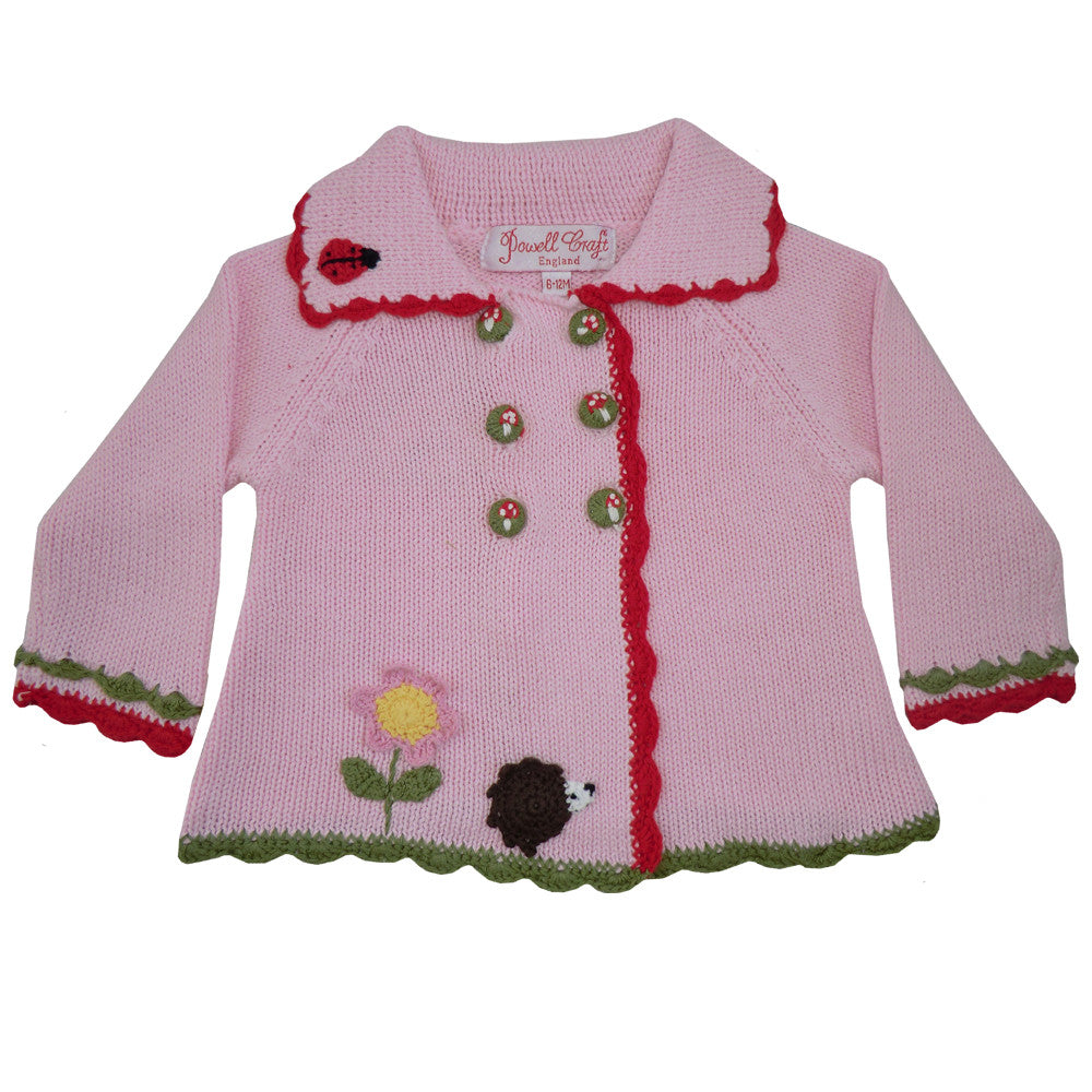 Enchanted Forest Pram Coat - 0 to 6 months (Special Order 2 weeks) Children's Clothing - Powell Craft Uk - Putti Fine Furnishings Toronto Canada - 1