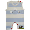 Farmyard Knitted Jumpsuit, PC-Powell Craft Uk, Putti Fine Furnishings