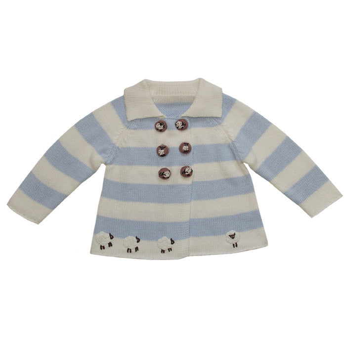 Farmyard Pram Coat -  Children's Clothing - Powell Craft Uk - Putti Fine Furnishings Toronto Canada - 4