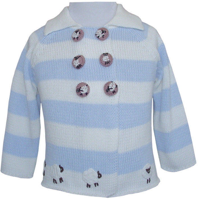 Farmyard Pram Coat -  Children's Clothing - Powell Craft Uk - Putti Fine Furnishings Toronto Canada - 3
