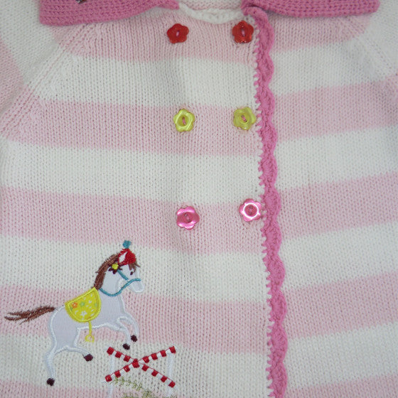 Pony Pram Coat -  Children's Clothing - Powell Craft Uk - Putti Fine Furnishings Toronto Canada - 2