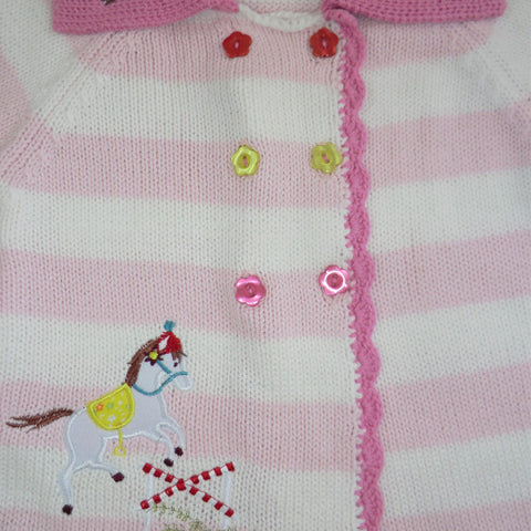 Pony Pram Coat - 0 to 6 months (Special order 2 weeks) Children's Clothing - Powell Craft Uk - Putti Fine Furnishings Toronto Canada - 1