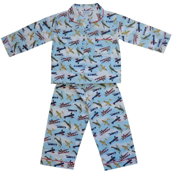 Douglas Vintage Aeroplane Pajamas, PC-Powell Craft Uk, Putti Fine Furnishings