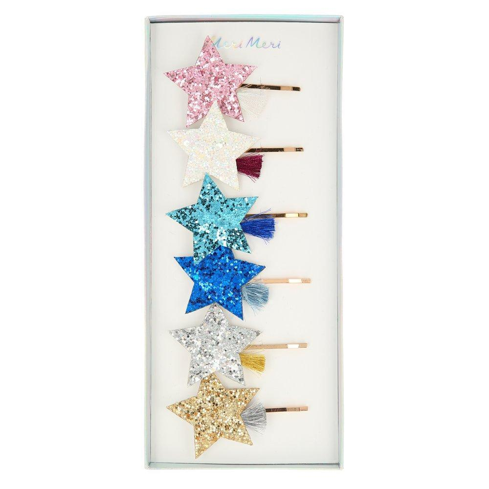 Meri Meri Shooting Star Hair Slides | Le Petite Putti Childrens