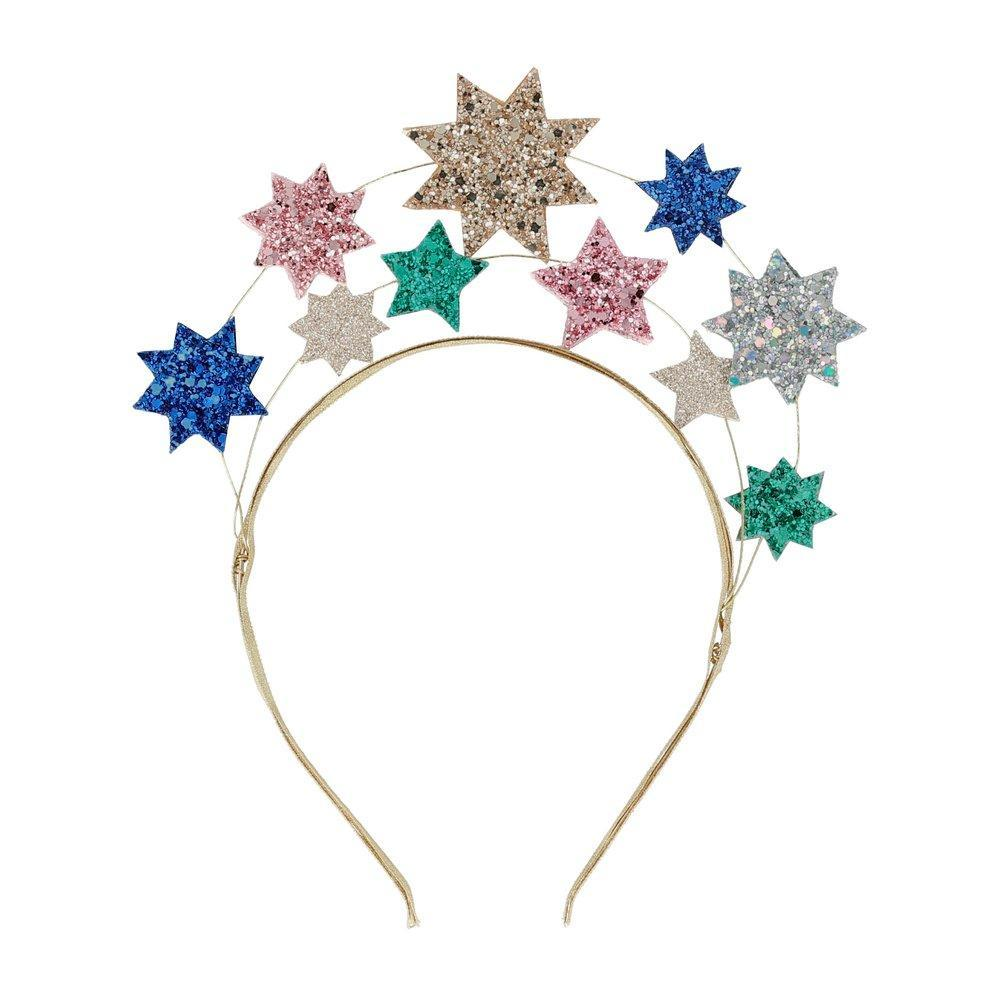 Meri Meri Glitter Star Headband  | Le Petite Putti Childrens