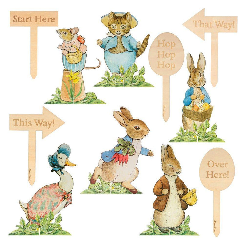 Meri Meri Peter Rabbit & Friends Egg Hunt Kit | Putti Party Supplies