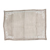 Embroidered Linen Voile Placemat, CH-Coach House, Putti Fine Furnishings
