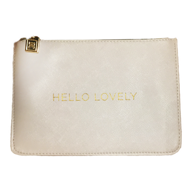 "Danielle - ""Hello Lovely"" Pouch"