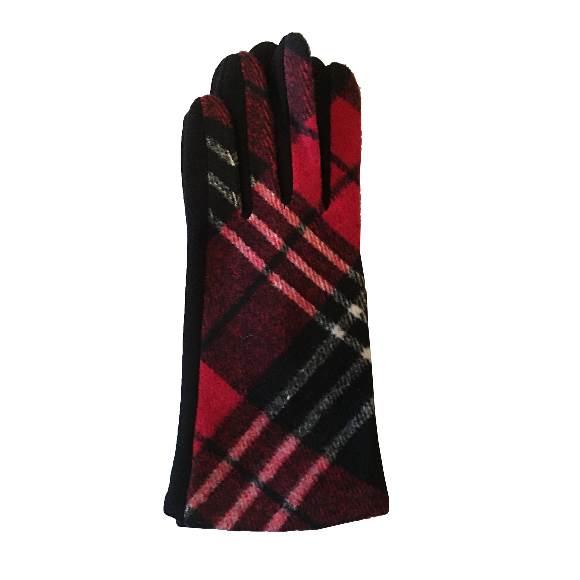 Red Plaid Gloves