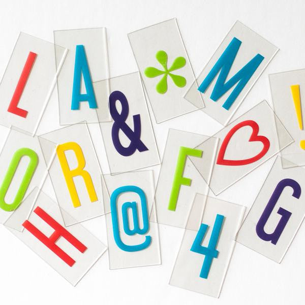 Vibrant Extra Letter & Symbol Pack - Original-Accessories-A&C-Amped & Co.-Putti Fine Furnishings