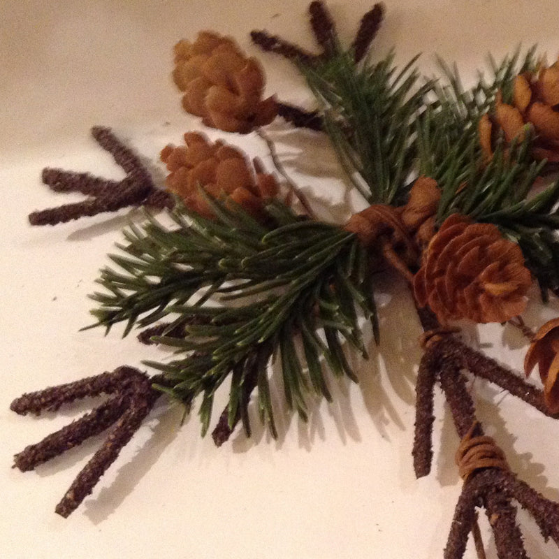 Evergreen Snowflake Ornament, Christmas Tradition, Putti Fine Furnishings