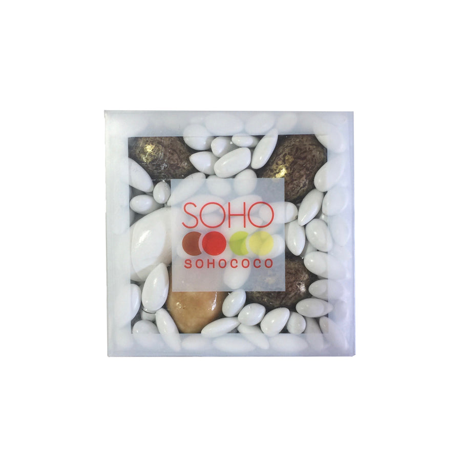 Soho Chocolate Covered Sunflower Seeds - White and Gold