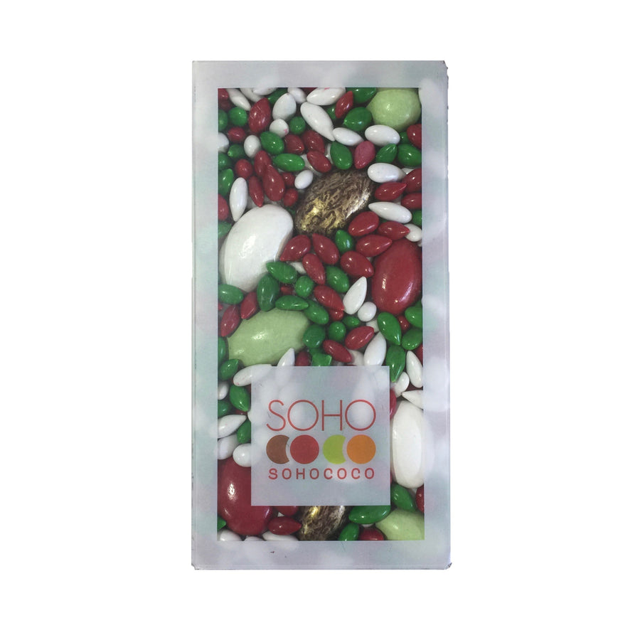 Soho Chocolate Covered Sunflower Seeds - Red and Green
