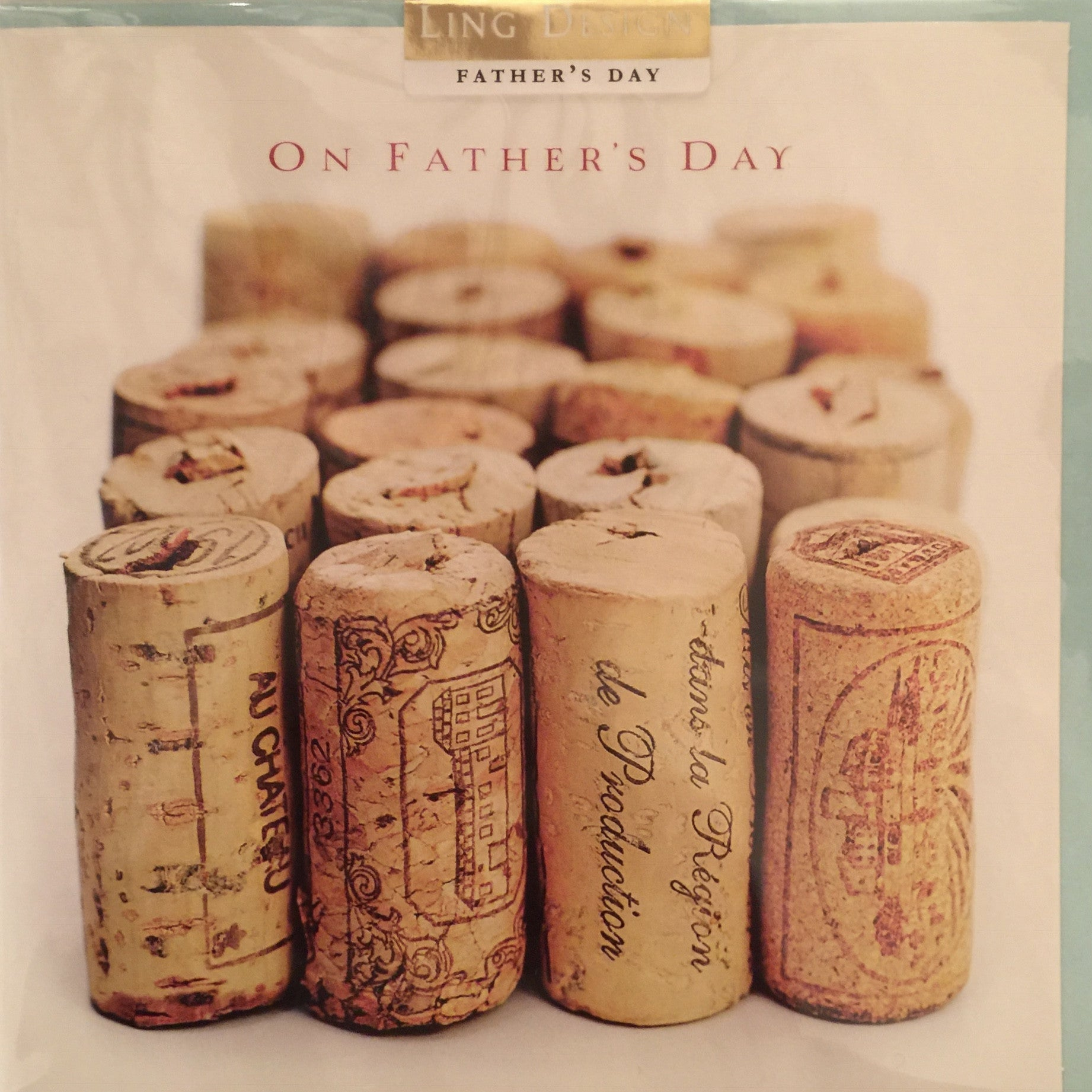 Corks in a row - Father's Day Card, PEC-Paper E Clips, Putti Fine Furnishings