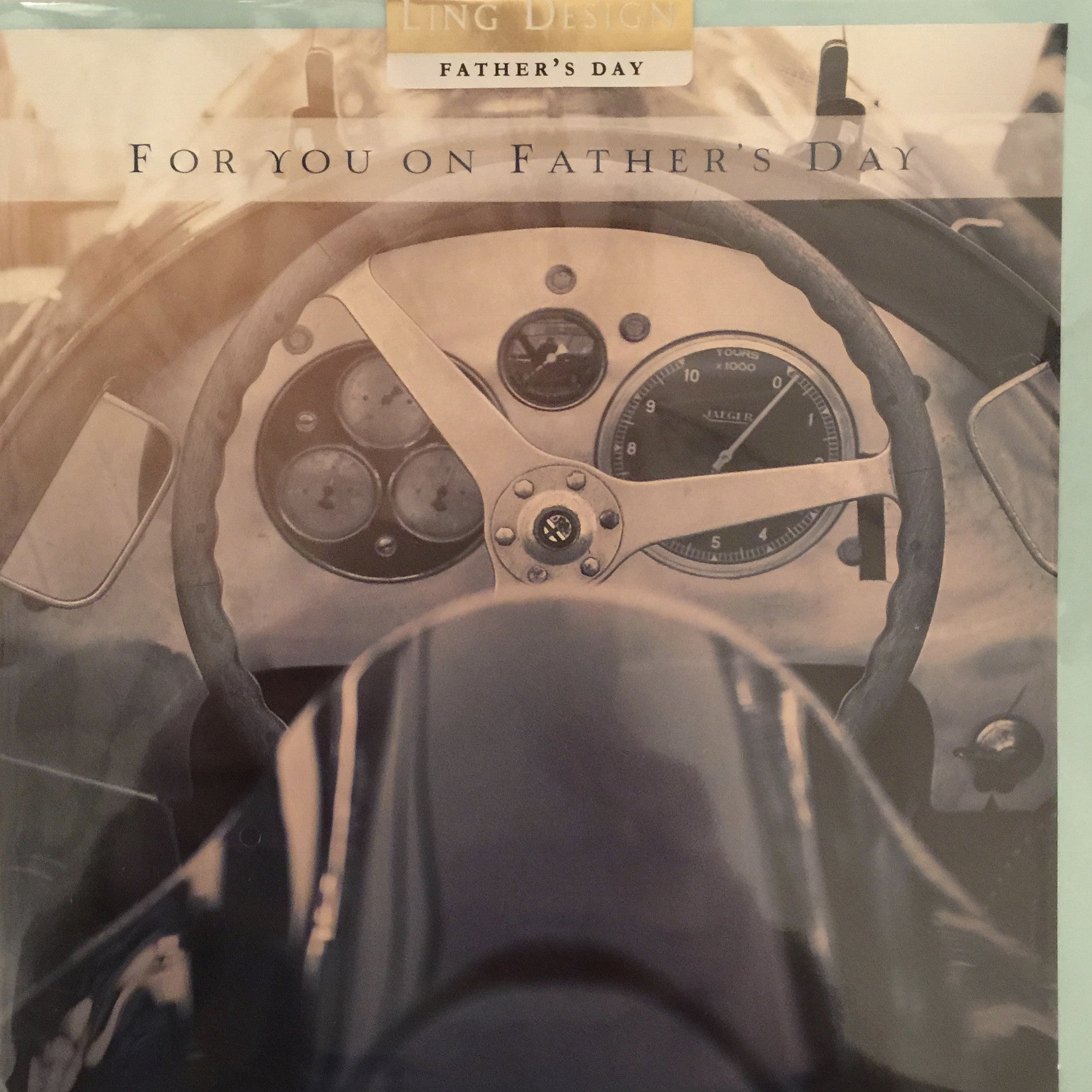 Old Racer - Father's Day Card, PEC-Paper E Clips, Putti Fine Furnishings