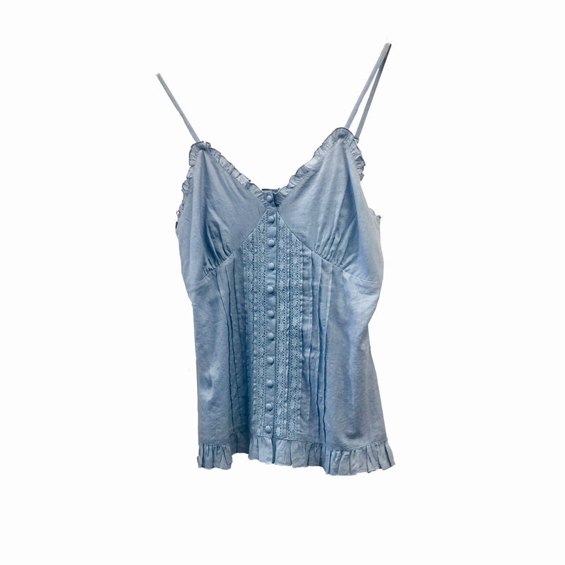 "Summer of Love ""Lava"" Blue Camisole"