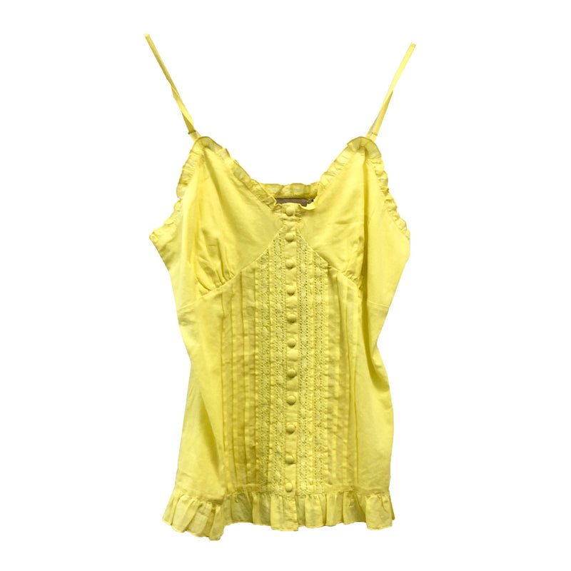 "Summer of Love ""Lava"" Yellow Camisole"