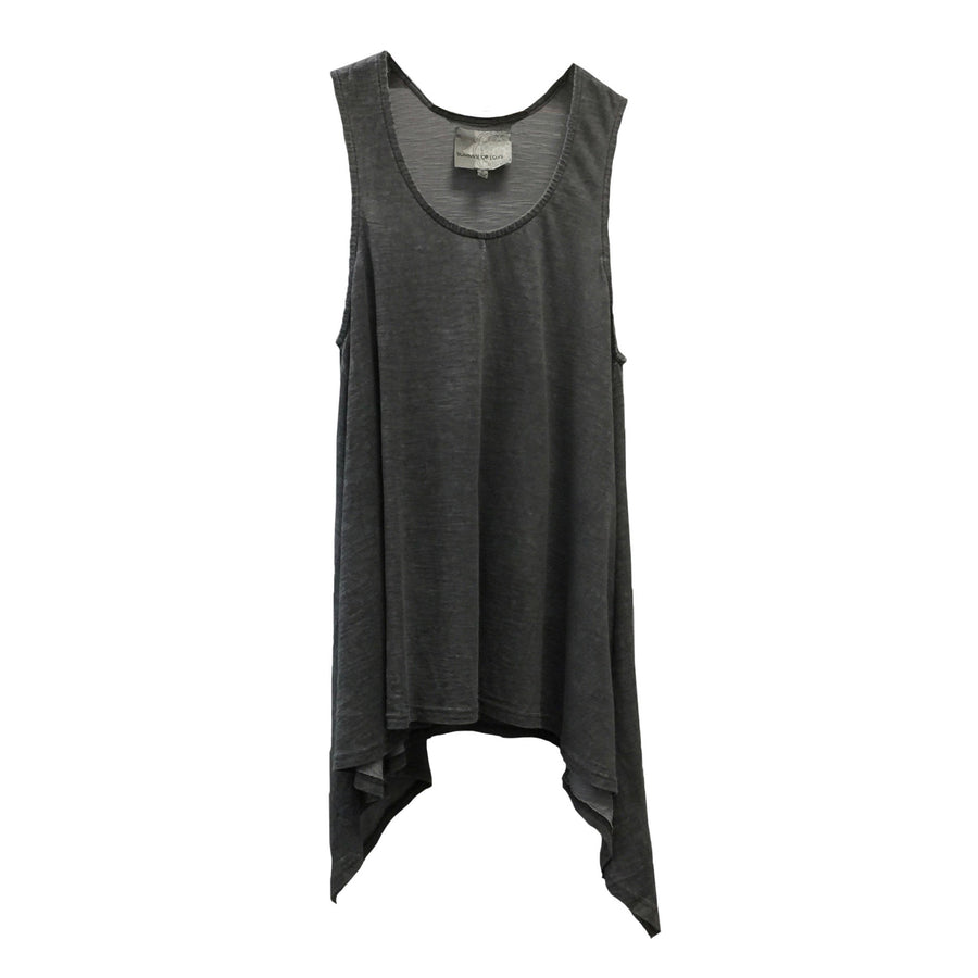 "Summer of Love ""Laga"" Charcoal Sleeveless Top, SOL-Summer of Love, Putti Fine Furnishings"